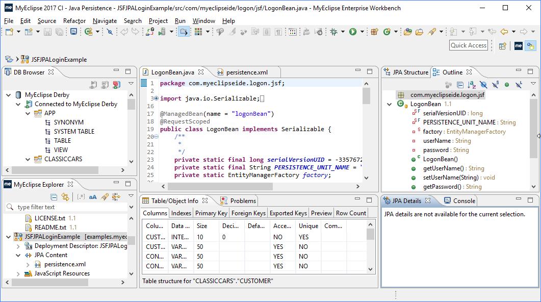 Java IDE for Java EE